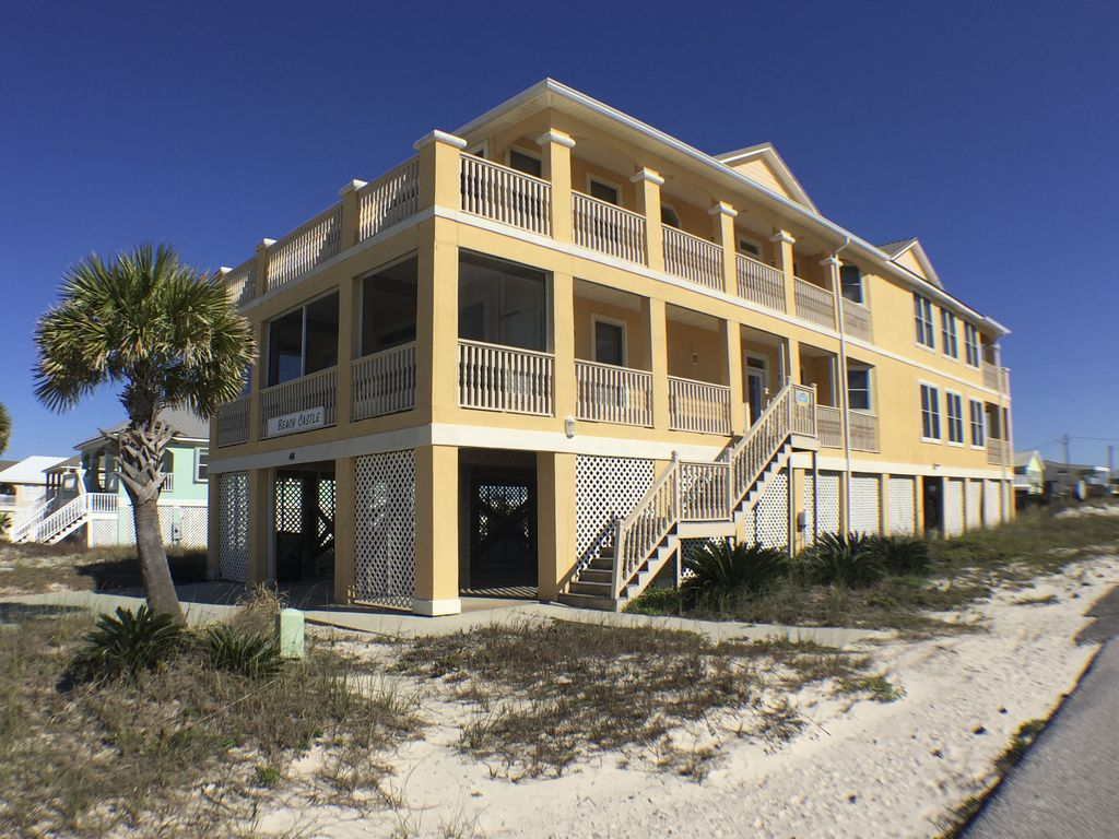 Beach castle 9br gulfside home with incredible views perfect for families gulf shores