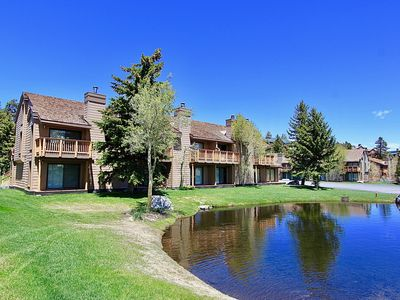 Photo for Snowcreek #315-Sleeps 8 w/Some Of Mammoth's Best Views of mountains and pond!