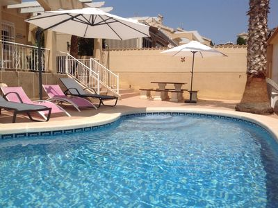 Photo for Lovely Modern Detached Villa With Private Pool & Air Conditioning