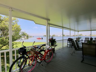 Photo for Sandbridge Island Cottage...Relax and Enjoy The Beautiful View of the Back Bay