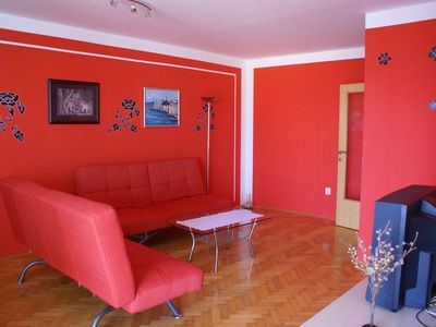 Photo for 100 m² apartment with climate for 4-5 people in Krk