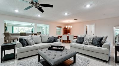 Photo for NEW!Palma Sola Escape 4 Mi To AMI Beaches, views of the BAY from outdoor living