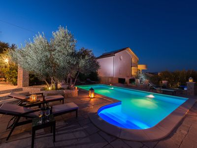 Photo for Villa Kos - A-2, Apartment for 2-4, with Swimming pool (4+0)