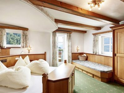 Photo for Double room C with shower, WC - Hauserbauer, Alpengasthof-Landhotel