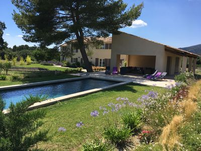 Photo for Provencal Mas with substantial grounds close to Lourmarin centre.