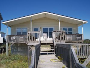 Photo for E1 326, Pet friendly and ocean front with a direct walkway to the Atlantic Ocean.