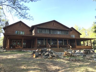 Photo for A historic lodge located on the Au Sable River in Northern Michigan
