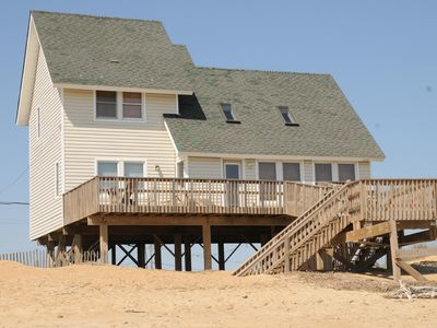 Photo for Oceanfront classic beach cottage in Kitty Hawk - DOG FRIENDLY  - 381