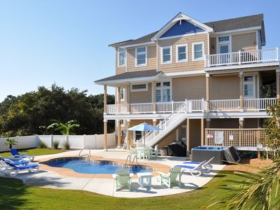 Photo for Barefoot At The Banks: 5 BR / 4 BA house in Corolla, Sleeps 13
