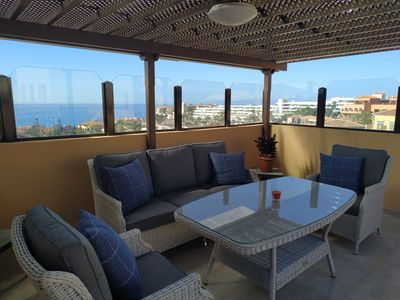 Photo for Stunning 3 bedroom penthouse with beautiful sea view