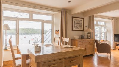 Photo for Stylish Harbourside Apartment in Polruan, Cornwall
