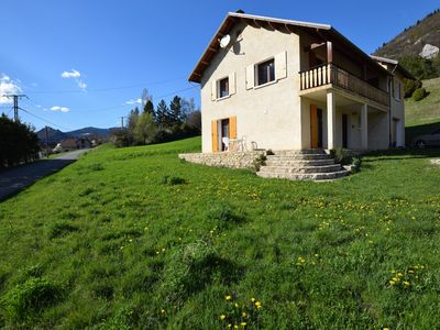 Photo for Magnificent house with stunning views in Lus-la-Croix-Haute (2.5 km)