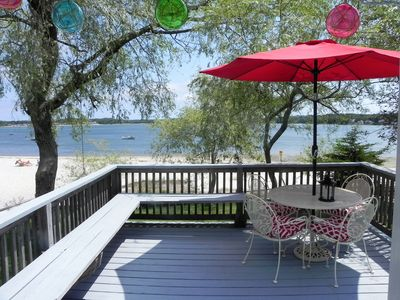 Photo for Waterfront Cottage On Buttermilk Bay At Indian Mound Beach