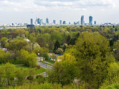 Photo for Apartment Panorama 46 sqm, Warsaw-Bielany,  12' to city center for 1- 4 guests