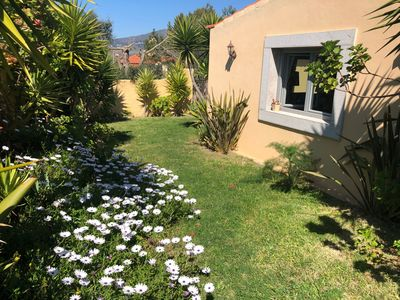 Photo for House with garden, 900 meters from Guincho Beach, Ocean and Mountain view