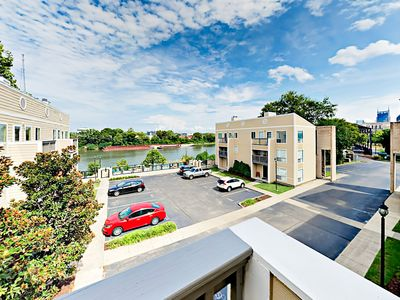 Balcony - Take in views of the Cumberland River from your 3rd-story balcony.