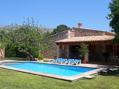 Photo for Traditional Mallorquin Stone Villa with Private Pool and Large Garden