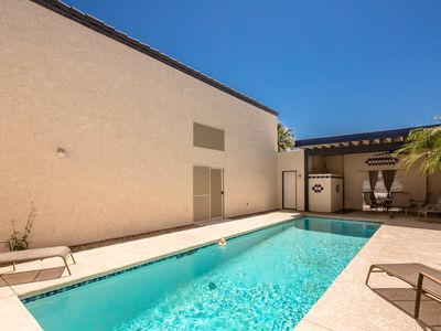 Photo for POOL HOME 2BD/2.5BA  unique design (1171)  steps from the Colorado River!