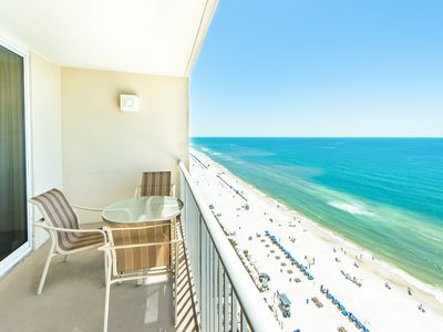 Photo for ☀Majestic 1-1706-1BR+Bunks☀Beach Front! 5 Pools! Aug 13 to 16 $657 Total!