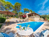Lovely large family villa, private and not over looked, Central in Mallorca