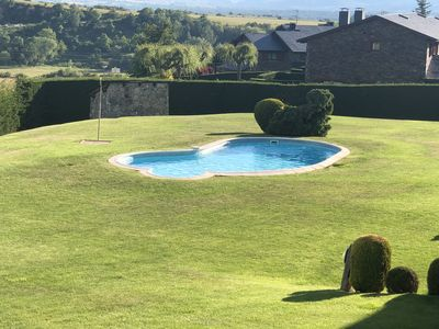 Photo for Beautiful duplex with pool 5 minutes from Puigcerda