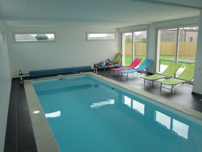 Photo for House with indoor pool