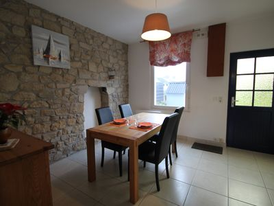 Photo for Single storey house, 4 persons, enclosed flowery garden, 2 miles from beaches