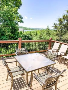 Enjoy the beautiful view of Table Rock Lake right off the back deck!