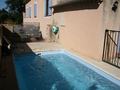 Photo for Holiday house with pool near the ventoux.
