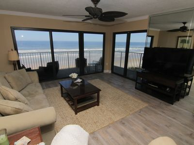 Photo for New Listing! Turtle Nest, Direct Oceanfront 4th Floor 2/2, Recently Renovated!