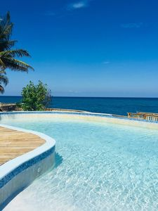 Photo for Large 2 bedroom Ocean Front Luxury Apartment - Whispering Seas