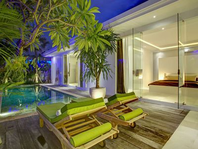 Photo for VILLA COLINA - BIDADARI NEAR SEMINYAK: TV, PRIVATE POOL, AIR CONDITIONING