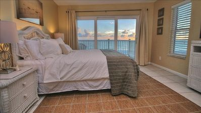Master Bedroom w/Sunset View