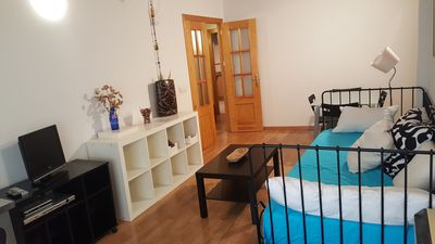 Photo for Romantic and beautiful 65 m2 new apartment in the main square of Segovia.