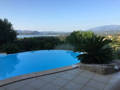 Photo for 4-star villa with sea and mountain views, quiet and comfort, swimming pool.