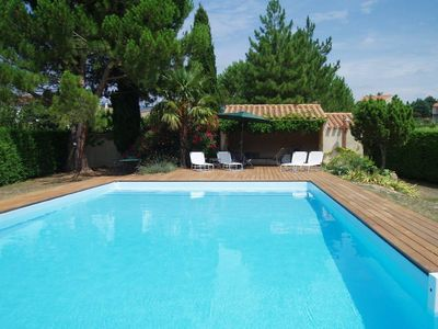 Photo for House with character, private swimming pool, near Carcassonne