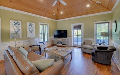 Photo for Home near Beach w/ Free WiFi, Flatscreen TV, Private Porches & Communal Pool