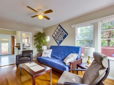 Photo for Quiet & Cute One-Bedroom Craftsman in North Park with Tons of Natural Light