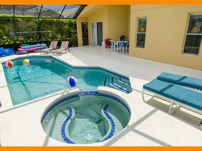 Photo for Emerald Island Resort 58 - villa with private pool & game room 3 miles from Disney
