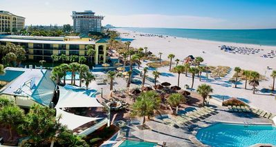 Photo for STAY ON THE BEACH! FOUR UNITS FOR 16! WATER SLIDES