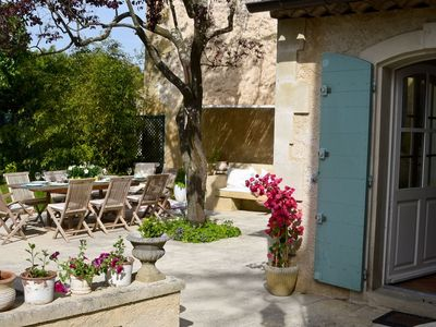 Photo for Lourmarin Cottage - in the beautiful village of Lourmarin