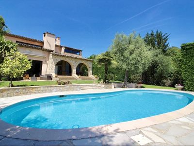 Photo for Provencal villa near Nice and Cannes for 10 people