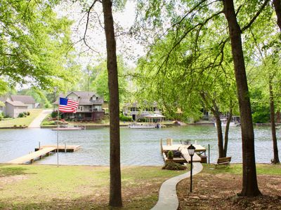 Photo for THE OAKS AT TECUMSEH! NEW TO VRBO! SOUTHERN CHARM ON LAKE MARTIN* OPEN JULY 4th