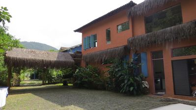 Photo for Beautiful house 150m From Beach, 4 suites w / air and Wonderful Sea View