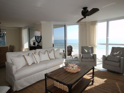 Photo for SeaSpray West 505- Beach Front Views from Terrace with Luxurious Interior!