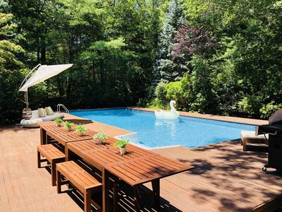 Photo for Private Luxury East Hampton Oasis w/ Pool