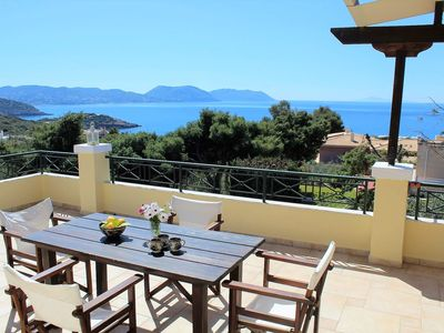 Photo for Villa BLUE SEA with a magical view of the sea.