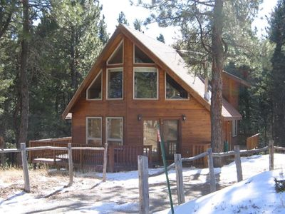 Photo for Elk House - Beautiful Chalet-Style Cabin in Angel Fire Village