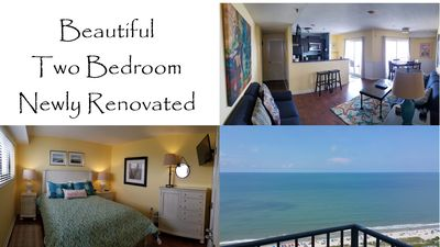 Photo for Ocean Condo - The View !! - Clean - Renovated 2 Bdrm 20th Floor - S