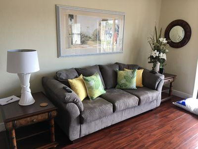 Photo for Nice 2 bedroom condo for rent-monthly renters and week renters to.